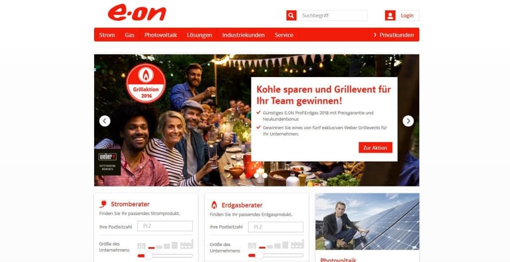 eon Webseite